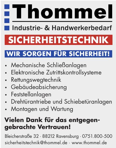 Thommel Industrie- & Handwerkebedarf