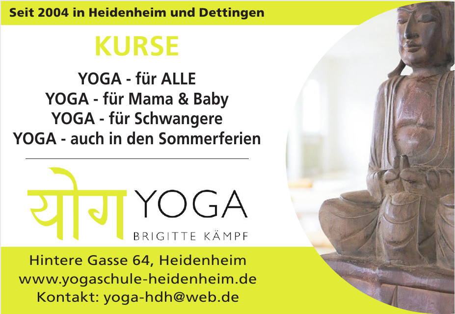 Yoga Brigitte Kämpf