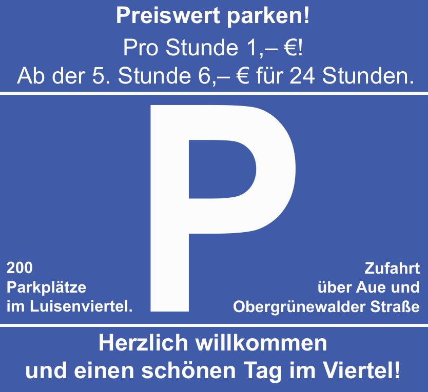 Preiswert parken!