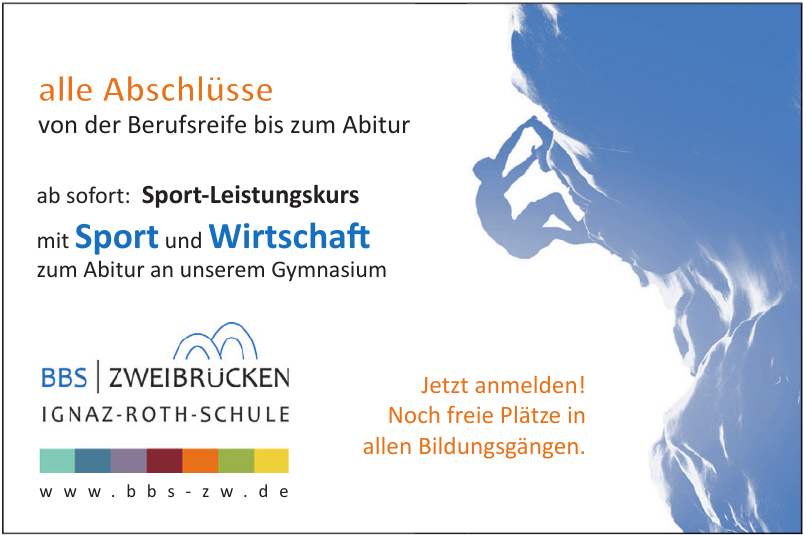 Berufsbildende Schule Zweibrücken Ignaz-Roth-Schule