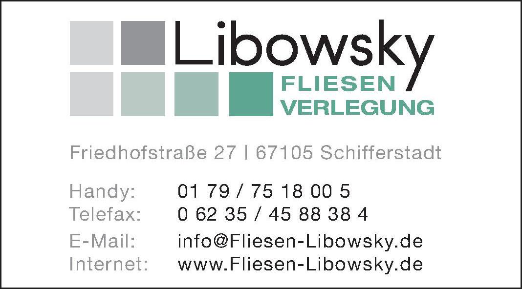 Libowsky - Fliesen Verlegung