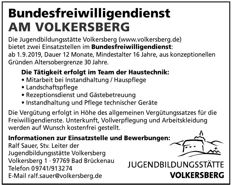 Jugendbildungsstätte Volkersberg