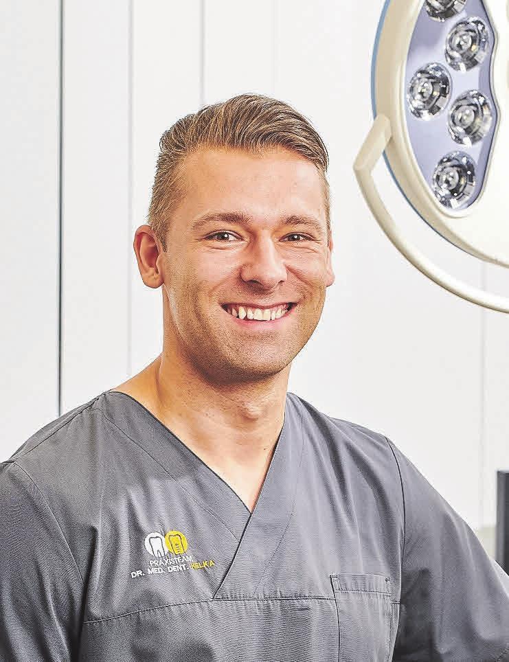 Dr. Stefan Helka empfiehlt Nachhaltigkeit auch rund um die Zahnpasta. Foto: Implantatzentrum Herne/Borgmeier PR