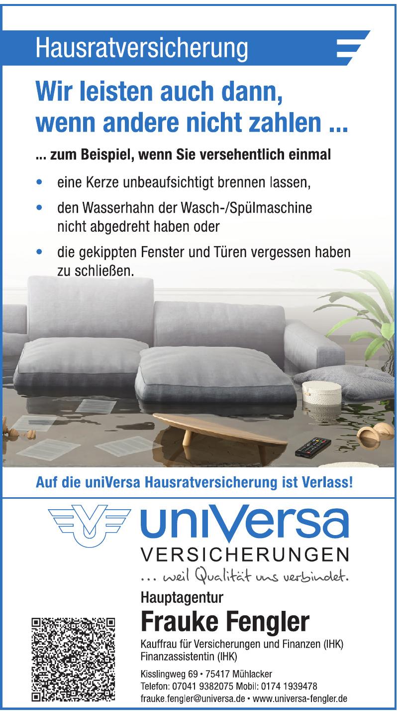 Universa Versicherungen