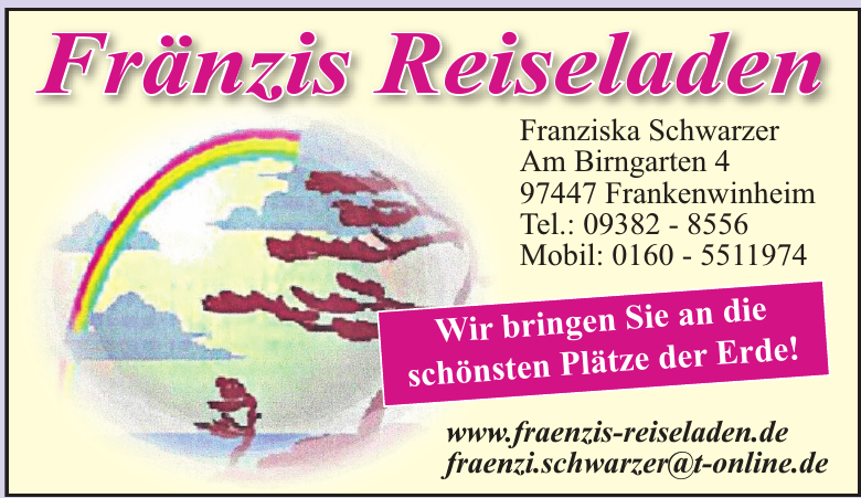 Fränzis Reiseladen