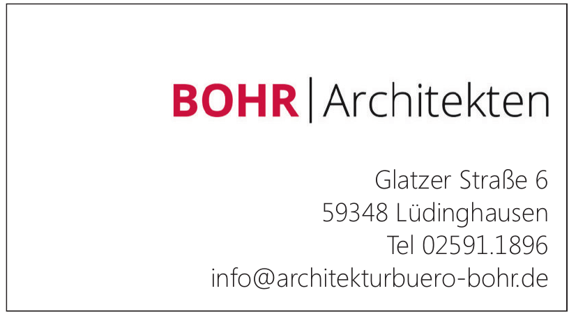 Bohr Architekten