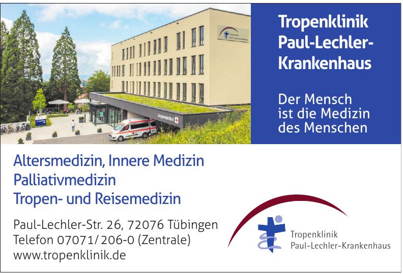 Tropenklinik Paul-Lechler-Krankenhaus