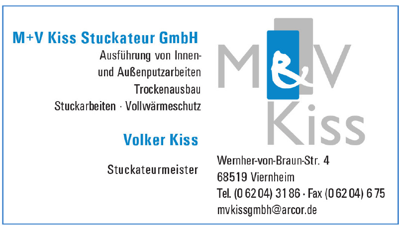M+V Kiss Stuckateur GmbH