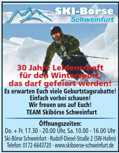 Ski-Börse Schweinfurt