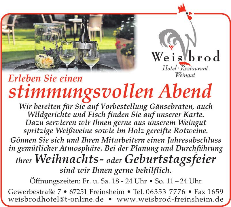 Weisbrod Hotel-Restaurant-Weingut
