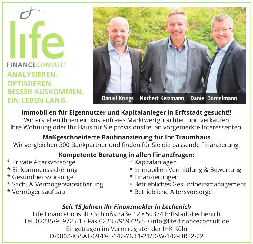 Life FinanceConsult