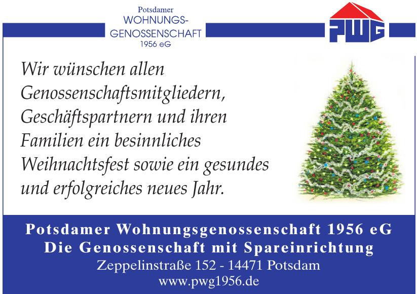 Potsdamer Wohnungsgenossenschaft  1956 eG