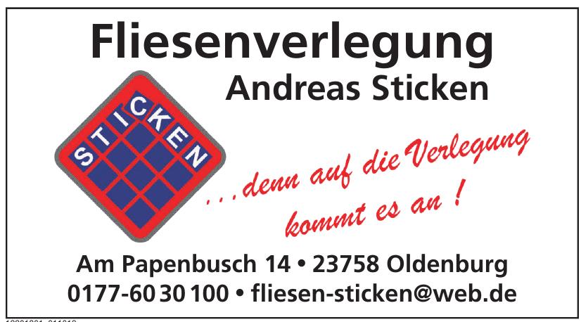 Fliesenverlegung Andreas Sticken