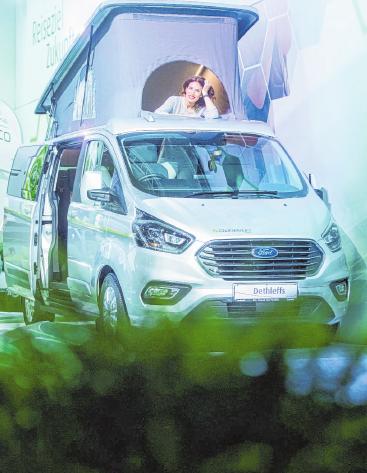 Die Zulassungszahlen für Reisemobile sind in diesem Jahr gestiegen. FOTO: ROLF VENNENBERND/DPA