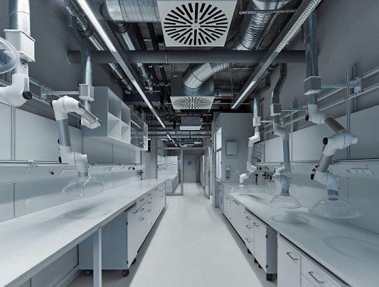 Die hochmoderne technische Ausstattung bietet beste Voraussetzungen für die interdisziplinäre Forschung.