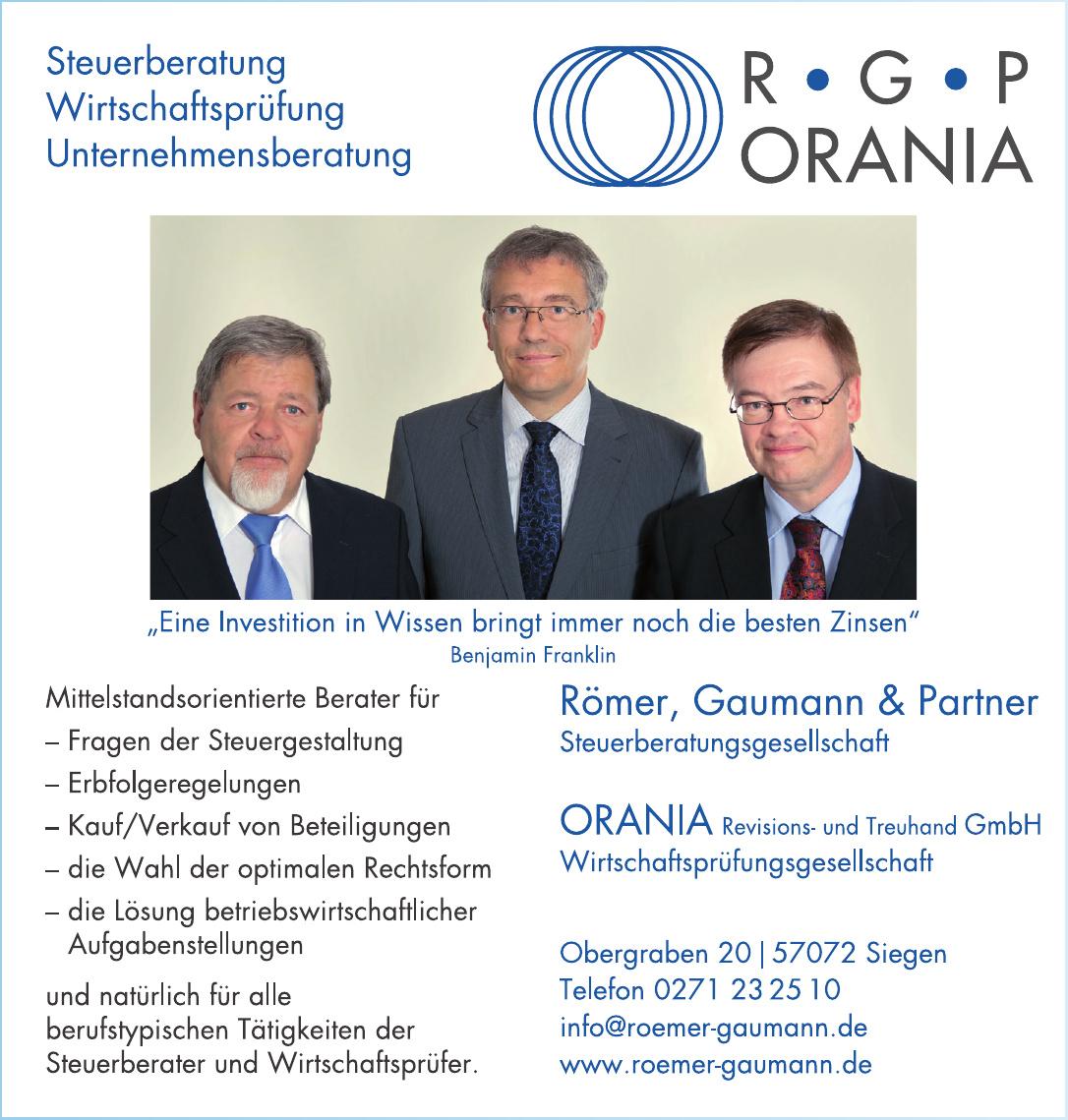 Römer, Gaumann & Partner