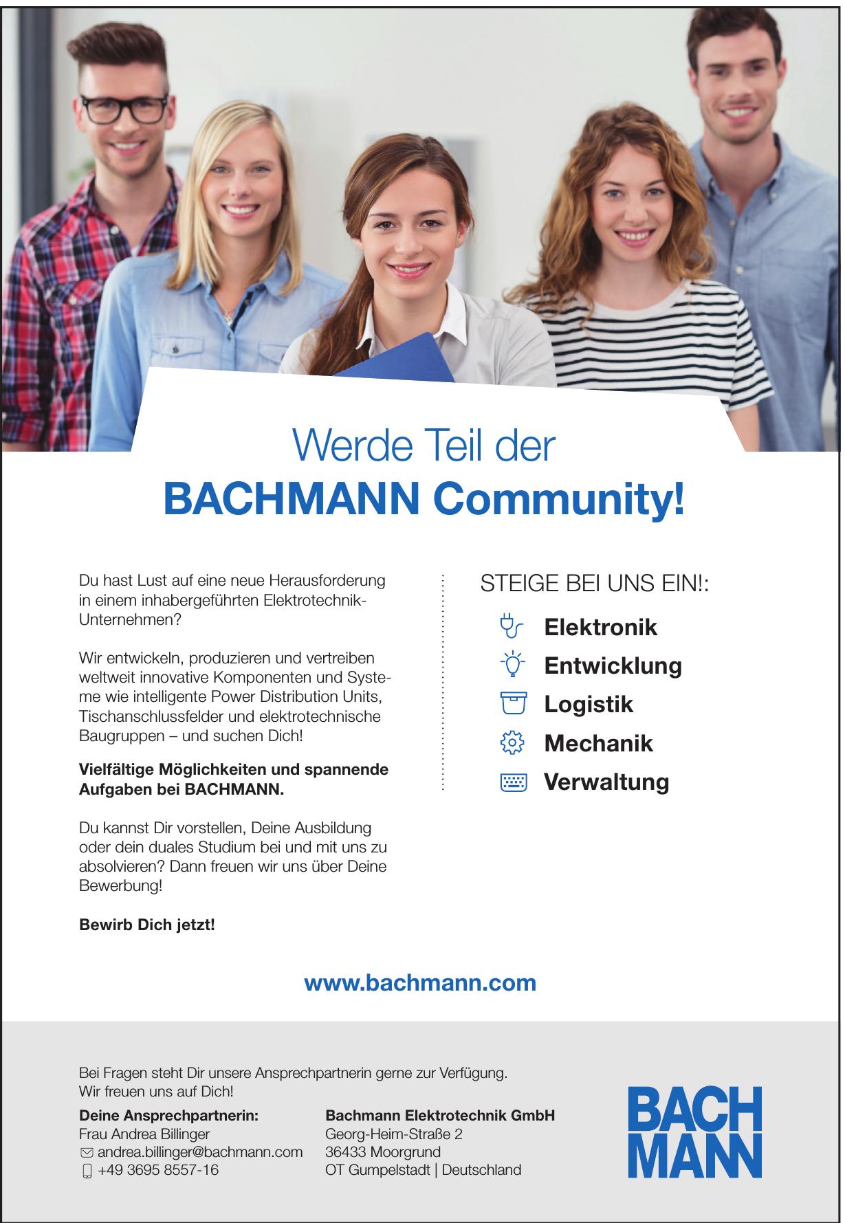 Bachmann Elektrotechnik GmbH