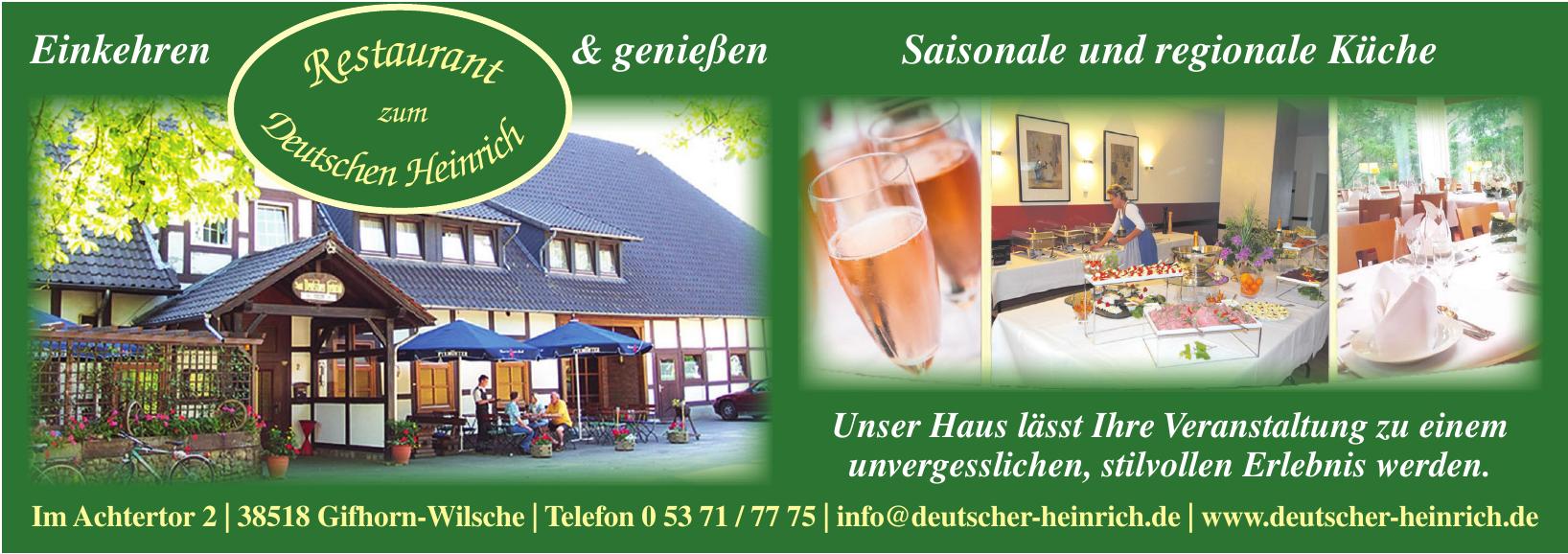 Restaurant zum Deutschen Heinrich
