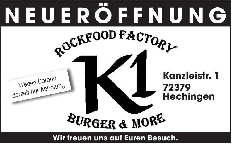 K1 - Rockfood Factory Burger & More