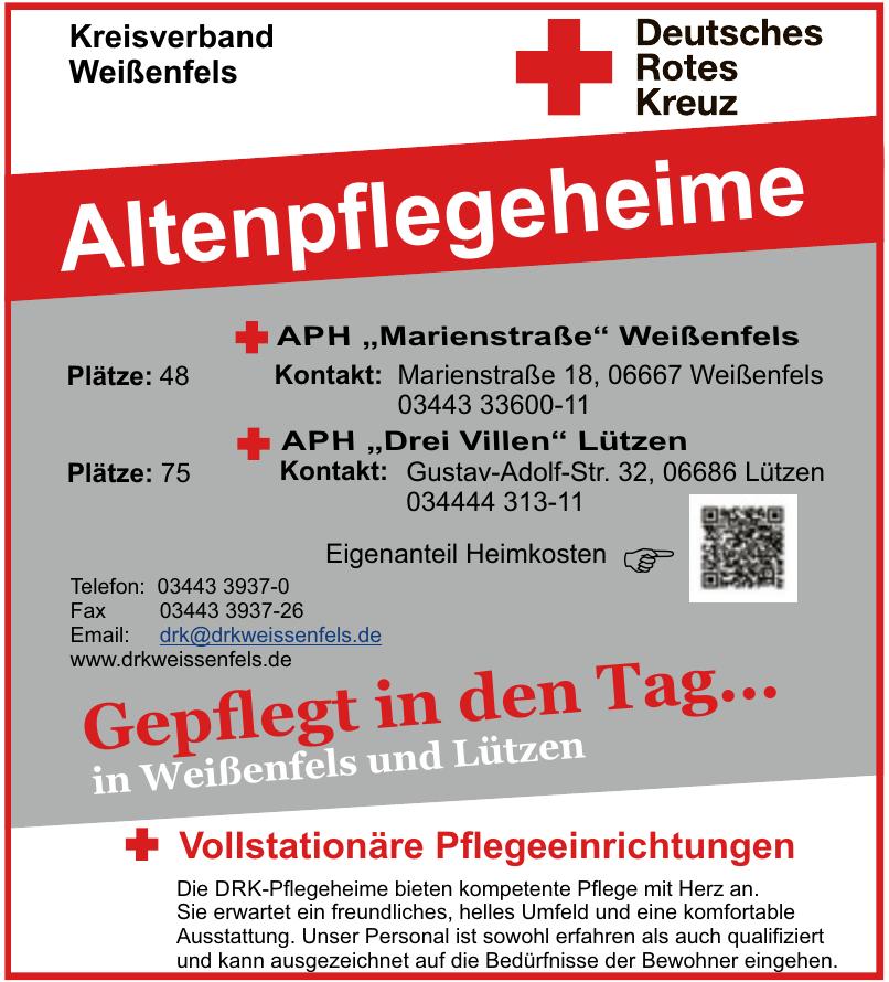 Deutsches Rotes Kreuz - Kreisverband Weißenfels
