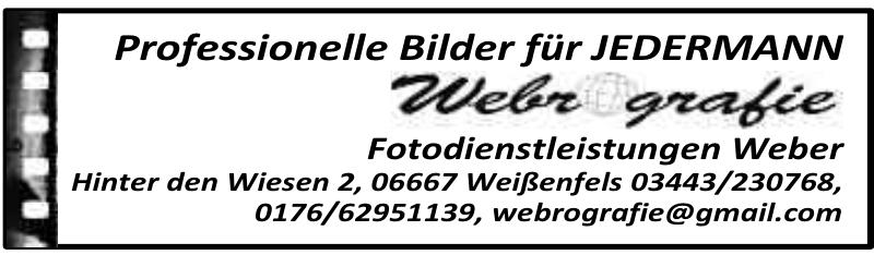 Webrografie Fotodienstleistungen Weber