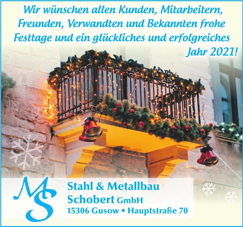 Schobert GmbH - MS  Stahl & Metallbau