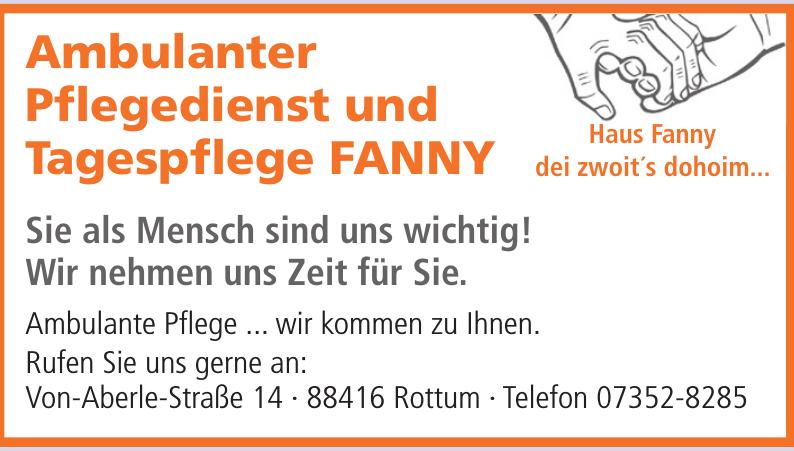 Haus Fanny Ambulanter Pflegedienst