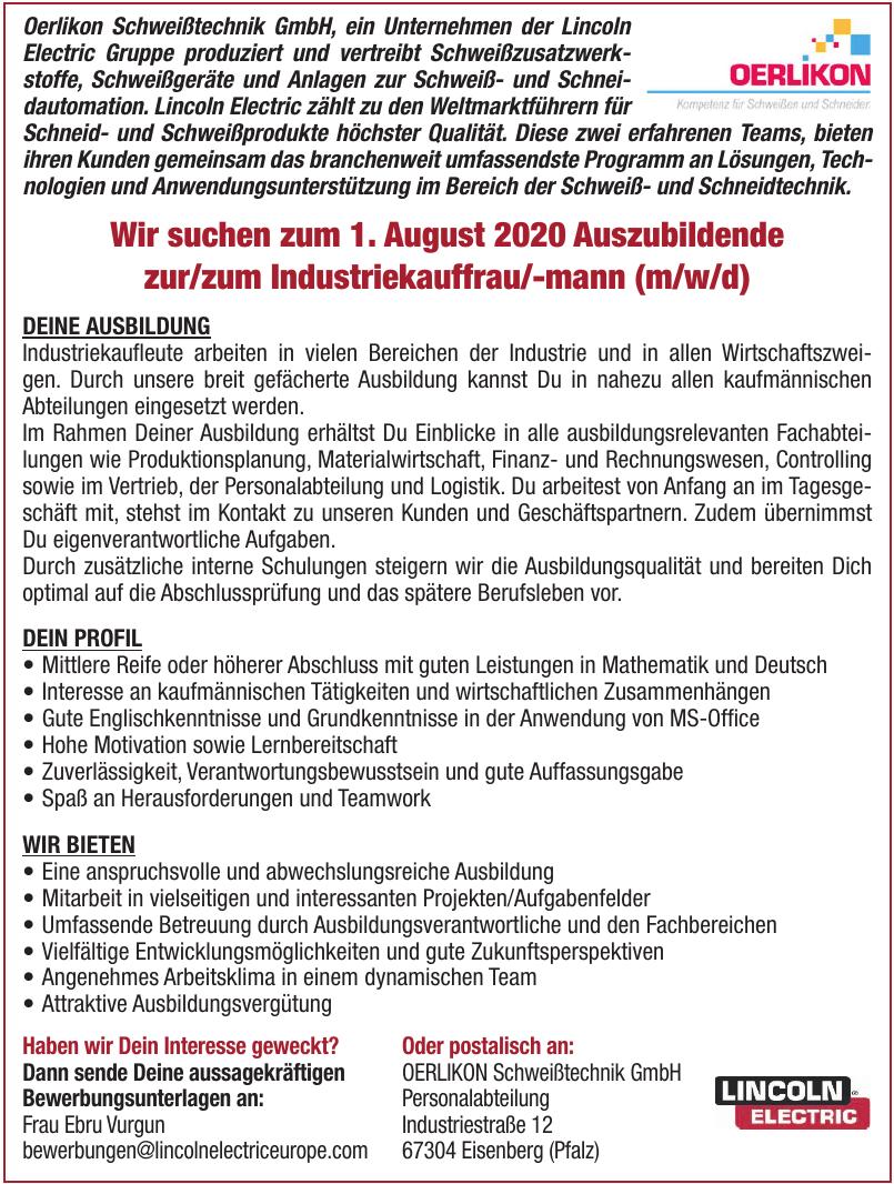 OERLIKON Schweißtechnik GmbH