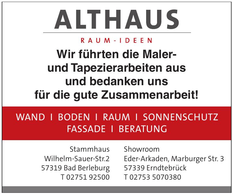 Althaus Raum-Ideen