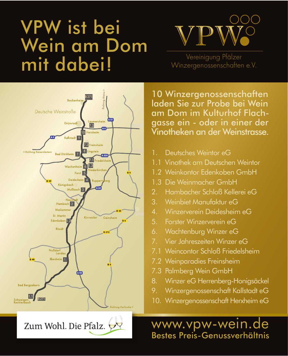 Vereinigung Pfälzer Winzergenossenschaften eV.
