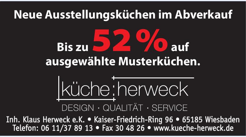 Küche Herweck - Inh. Klaus Herweck e.K.