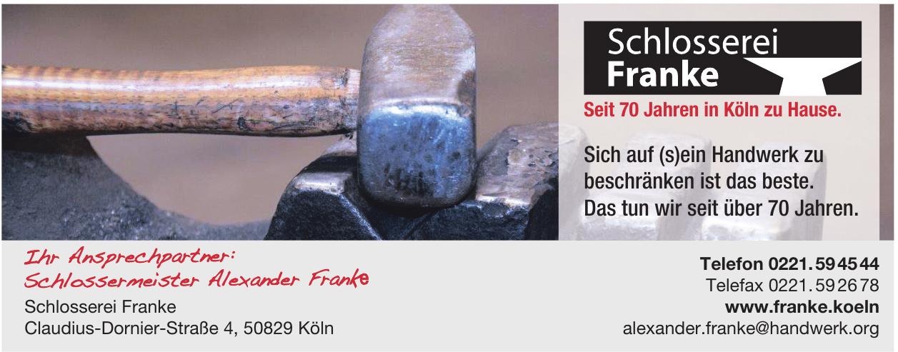 Schlosserei Franke