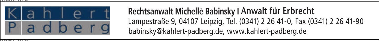 Rechtsanwalt Michellè Babinsky