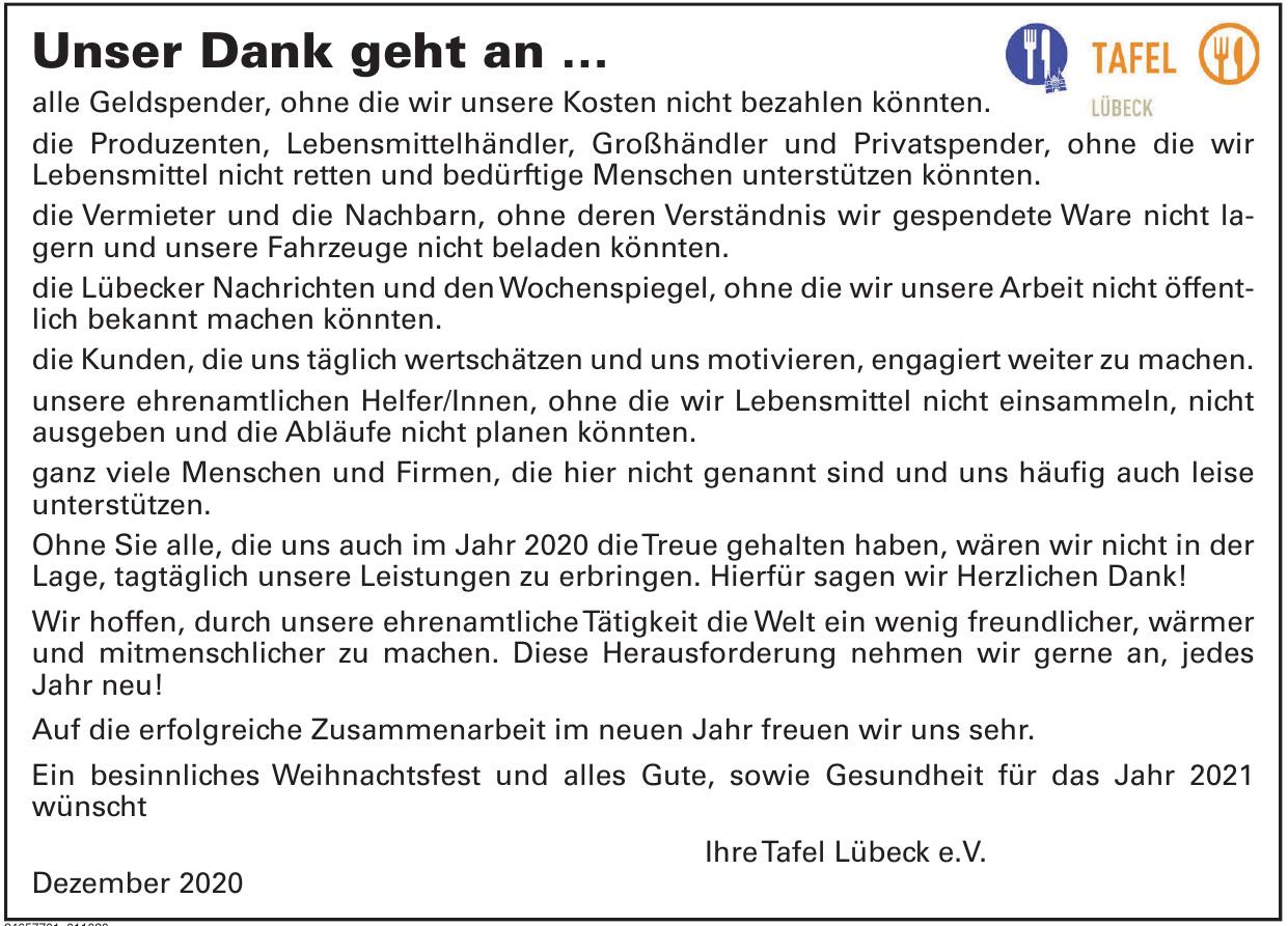 Tafel Lübeck e.V.