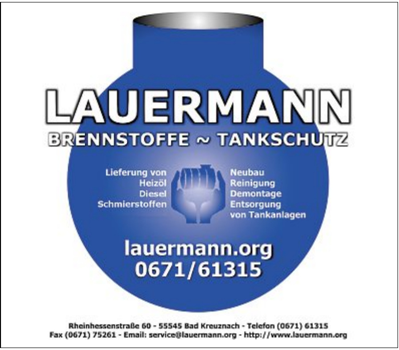 Firma Lauermann Brennstoffe - Tankschutz