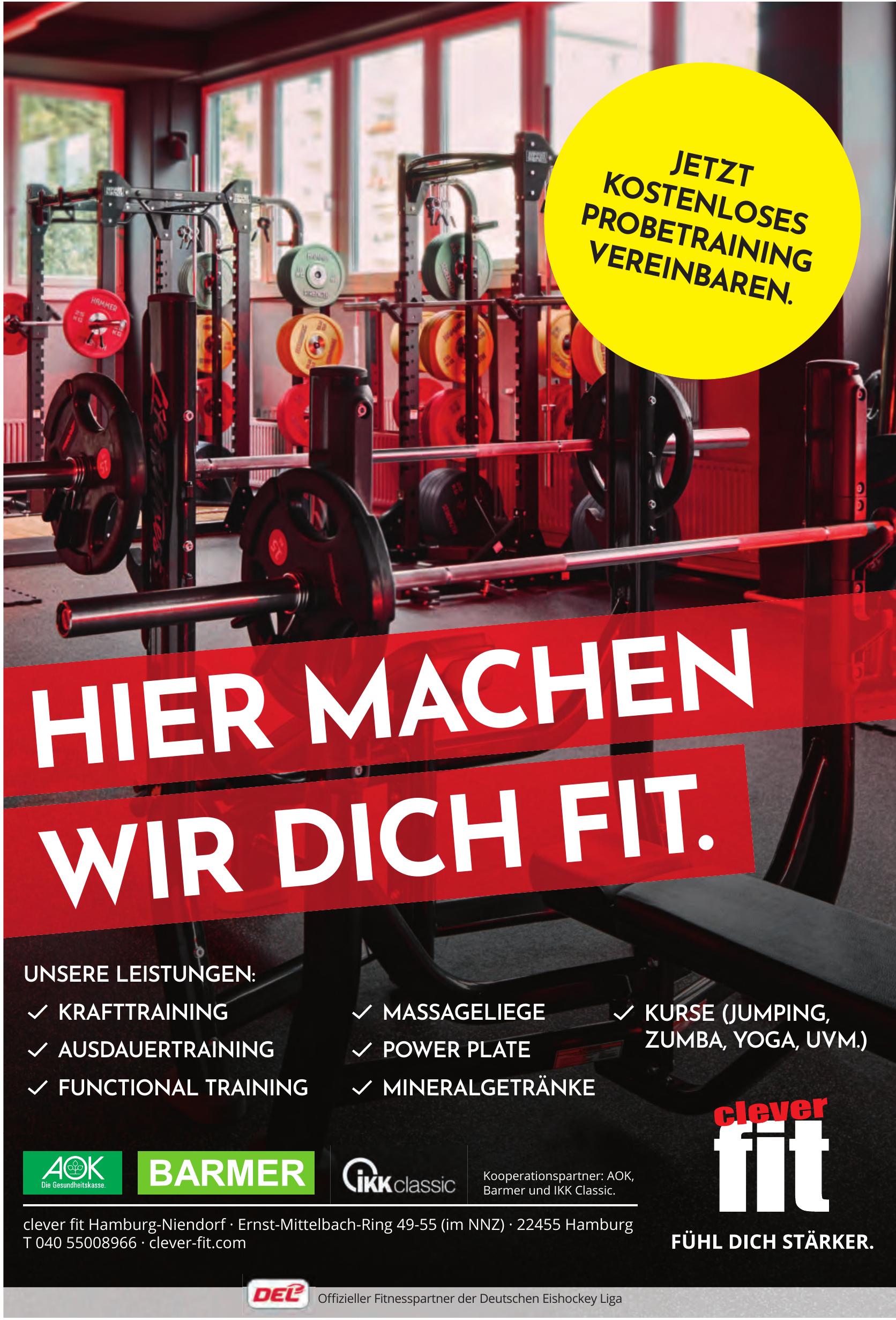 clever fit Hamburg-Niendorf