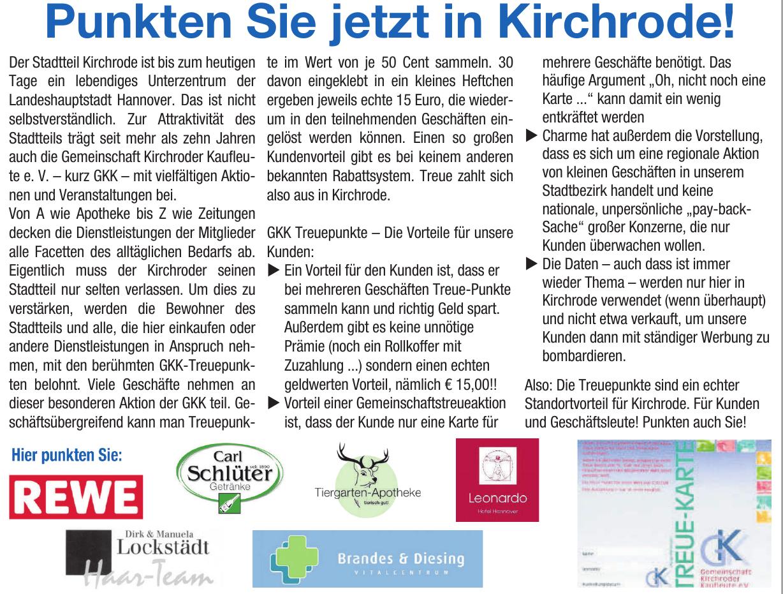Gemeinschaft Kirchroder Kaufleute e. V.
