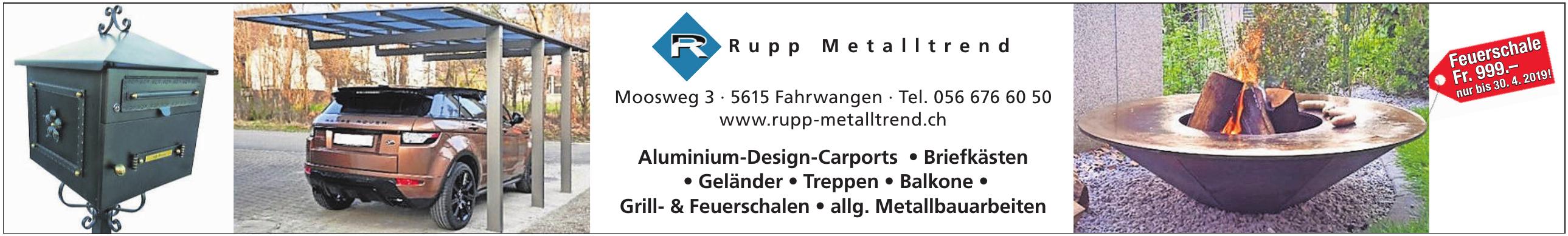 Rupp Metalltrend