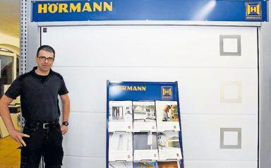 Dauerbrenner bei der H&H-Messe wie auch bei der Gewa: der in Waldmohr ansässige Unternehmer Carsten Heil. FOTO: HAMM