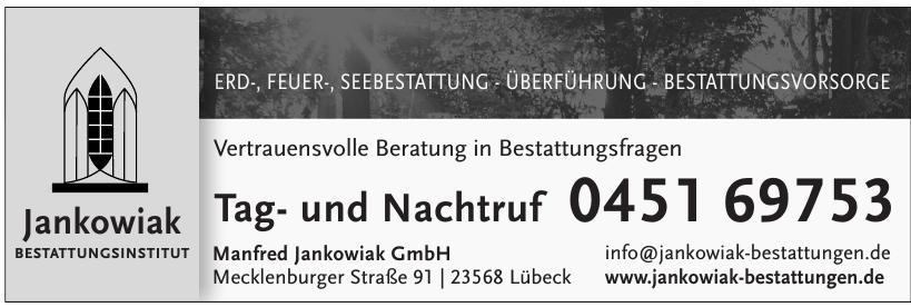 Jankowiak Bestattungsinstitut - Manfref Jankowiak GmbH