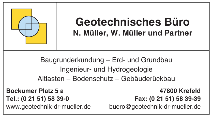 Geotechnisches Büro N. Müller, Dr. W. Müller und Partner