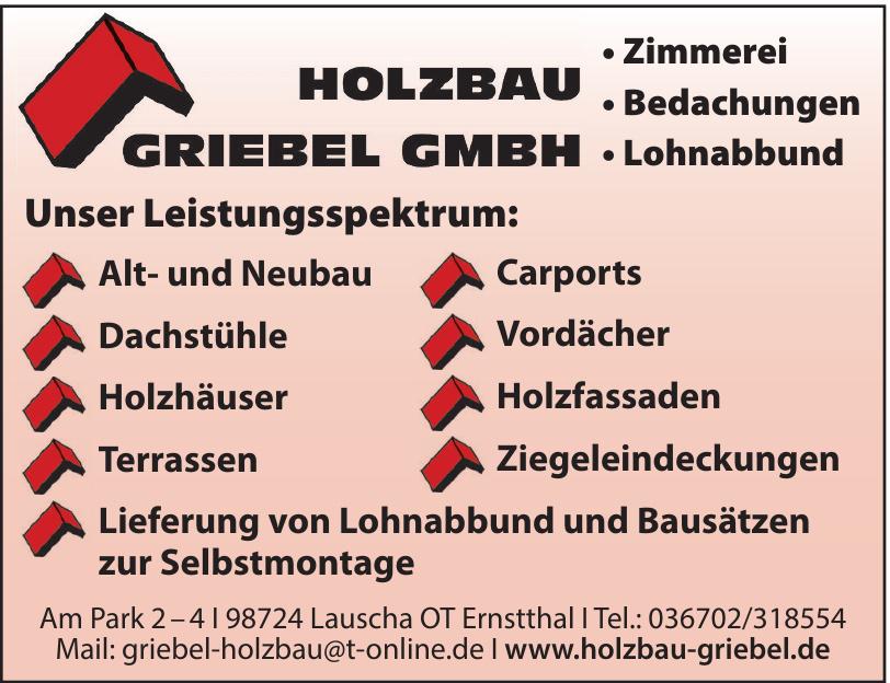 Holzbau Griebel GmBH