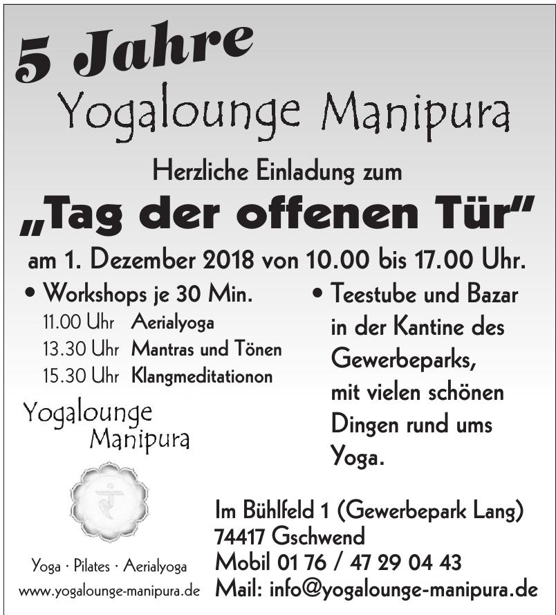 Yogalounge Manipura