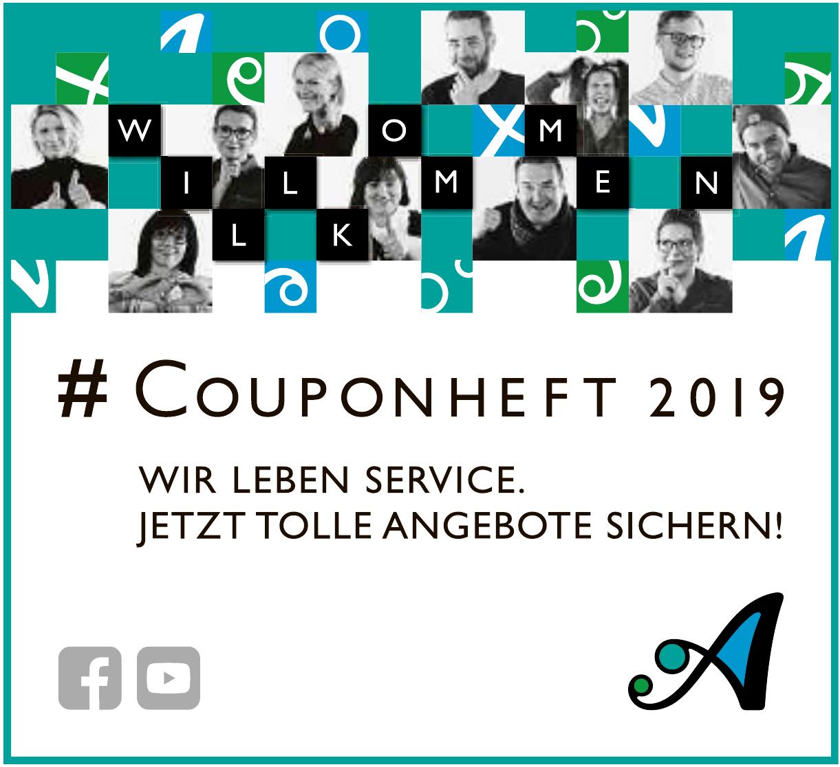 Couponheft 2019