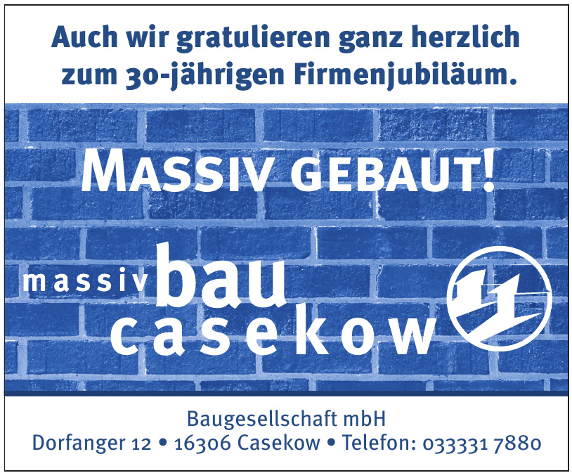 Massiv Bau Casekow Baugesellschaft mbH