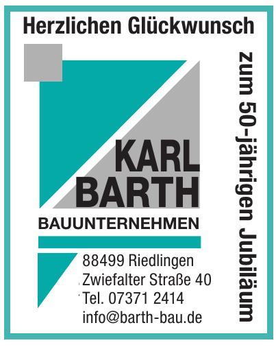 Karl Barth Bauunternehmen