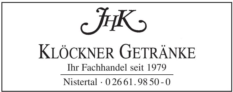 JHK Klöckner Getränke