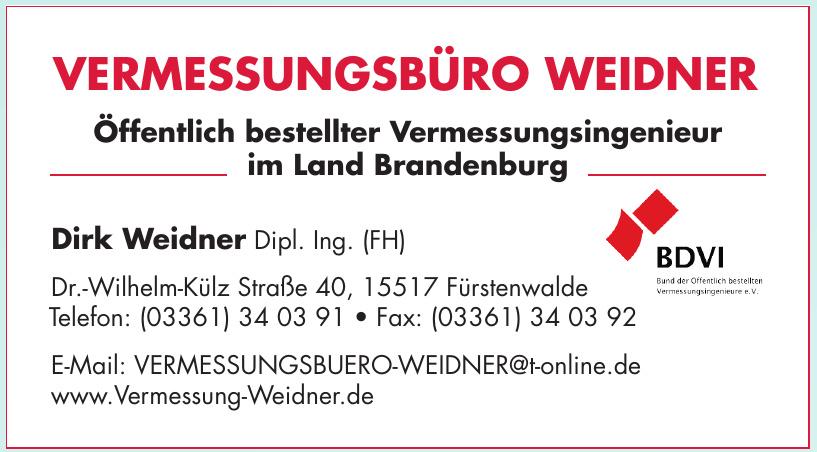 Vermessungsbüro Weidner