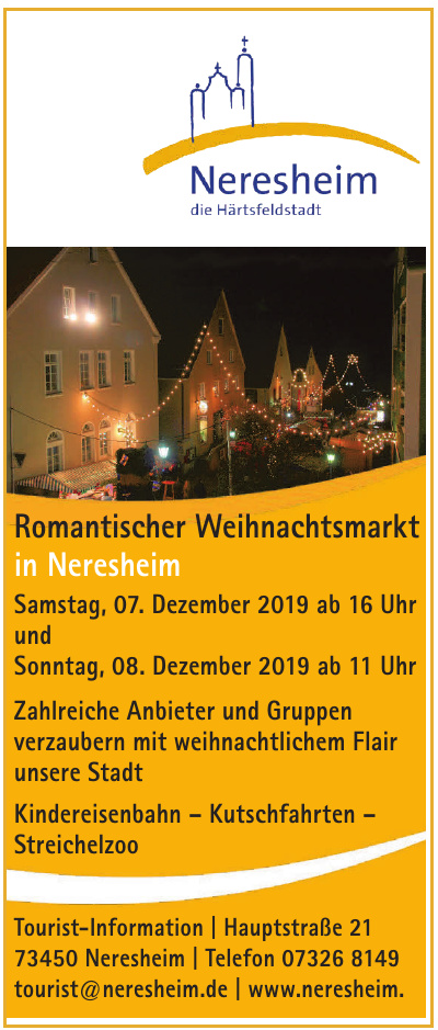 Neresheim - Tourist-Information