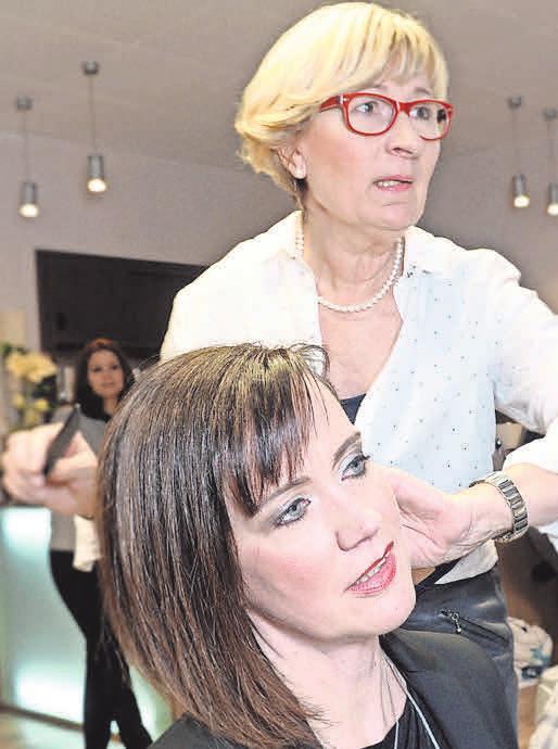 So bleibt Verena Feist ihren Kunden in Erinnerung: Als fachkompetente und liebenswürdige Friseurmeisterin mit viel Empathie.